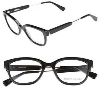 Women's Derek Lam 50Mm Glasses - Black $270 thestylecure.com