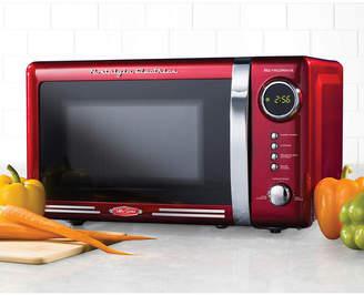 Nostalgia Electrics Nostalgia Rmo770Red Retro 0.7 Cubic Foot Microwave Oven