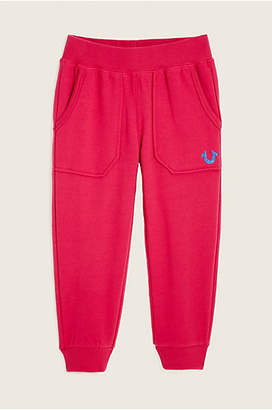 True Religion Toddler/Little Kids Branded Sweatpant