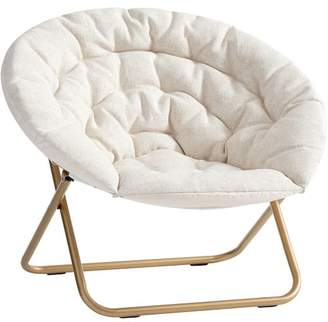Pottery Barn Teen Ivory Tweed Hang-A-Round Chair