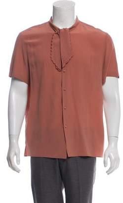 Gucci 2016 Silk Short Sleeve Shirt