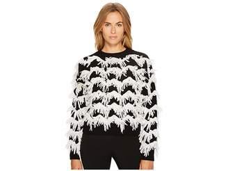 Sportmax Stagno Textured Zigzag Sweater Women's Sweater