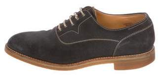 John Lobb Sahara Suede Oxfords