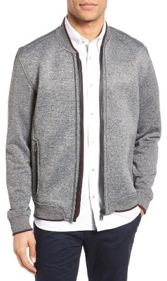Men's Ted Baker London Ace Jersey Bomber Jacket $258.75 thestylecure.com