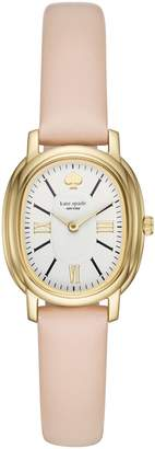 Kate Spade Staten Leather Strap Watch, 25mm