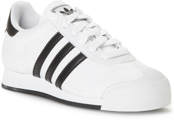 adidas Women's Originals Samoa Leather Sneakers from Finish Line