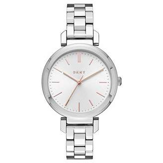 DKNY Women's Analogue Quartz Watch with Stainless Steel Strap NY2582