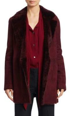 Theory Clairene Shearling Jacket