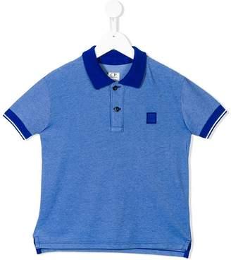 C.P. Company Kids short-sleeve polo shirt