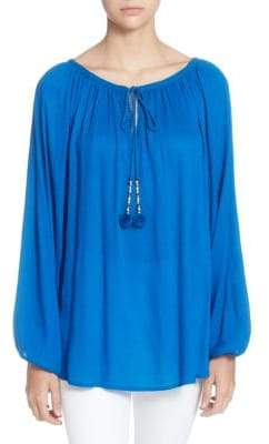 Catherine Malandrino Sufi Long-Sleeve Blouse