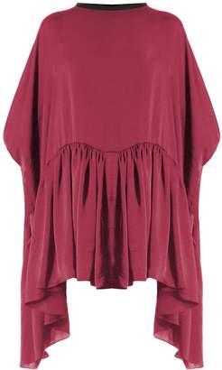Meem Label - Jefferson Raspberry Smock Dress