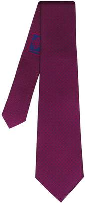 SARTESORI - Iconic Tie Red Navy