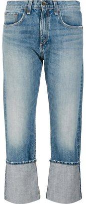 Rag & Bone /Jean 'Marilyn Cropped' jeans $325 thestylecure.com