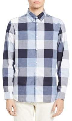 Calvin Klein Jeans Buffalo Grindle Check Button-Down Shirt
