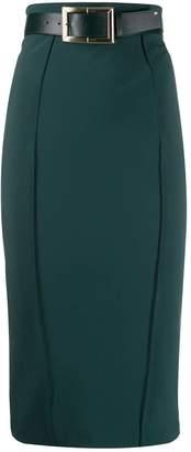 Elisabetta Franchi belted pencil skirt