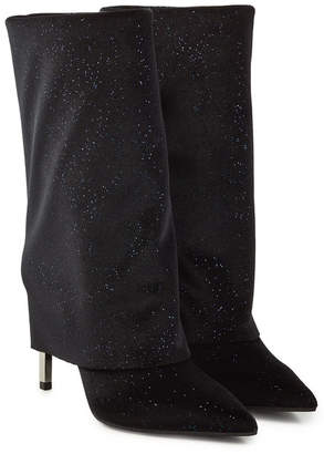 Balmain Babette Leather Knee Boots