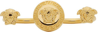 Versace Gold Medusa Knuckle Ring