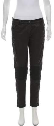 Belstaff Mid-Rise Coated Jeans