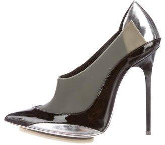 Balenciaga Balenciaga Colorblock Pointed-Toe Pumps