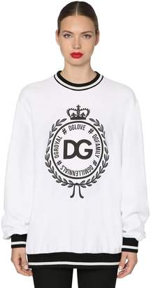 Dolce & Gabbana Logo Printed Sweatshirt