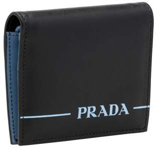 Prada Small Mirage Leather Wallet