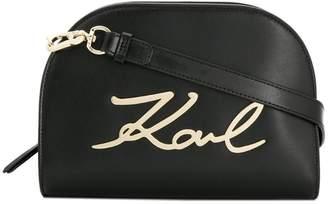 Karl Lagerfeld K/Signature crossbody bag