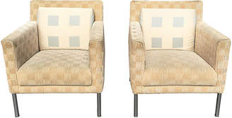 One Kings Lane Vintage Walter Knoll Club Chairs - Set of 2 - Chic Transitions