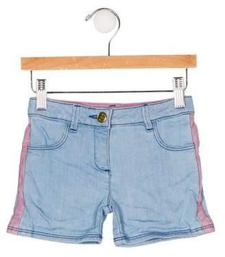 Little Marc Jacobs Girls' Four Pocket Denim Shorts