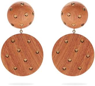 REBECCA DE RAVENEL Marina clip-on earrings
