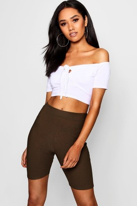 boohoo Petite High Waisted Cycling Short