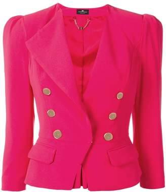 Elisabetta Franchi classic fitted blazer