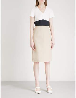 Diane von Furstenberg Panelled cotton-blend dress