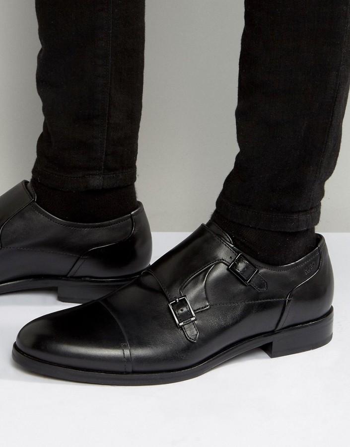 Hugo BossBOSS HUGO by Hugo Boss Tempt Toe Cap Monk Shoes