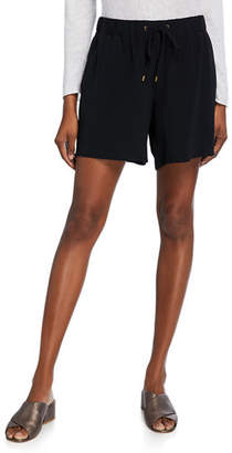 Eileen Fisher Tencel/Viscose Crepe Walking Shorts