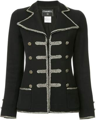 Chanel Pre-Owned military jacket