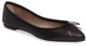 Women's Agl Sacchetto Pointy Toe Flat $340 thestylecure.com