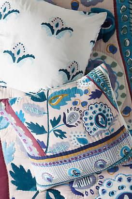 Anthropologie Artisan Quilts by Sunder Euro Sham