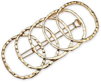 INC International Concepts I.N.C. Gold-Tone Multi-Circle Hair Barrette, Created for Macy's