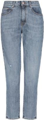 Care Label Denim pants - Item 42734540BB