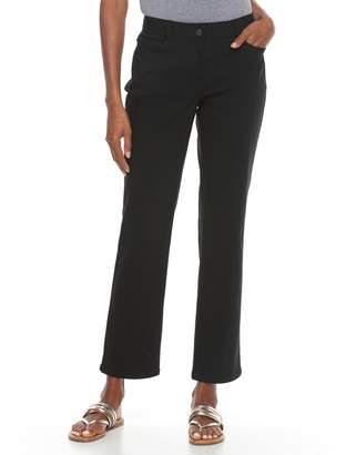 Dana Buchman Women's Millennium Midrise Crop Pants