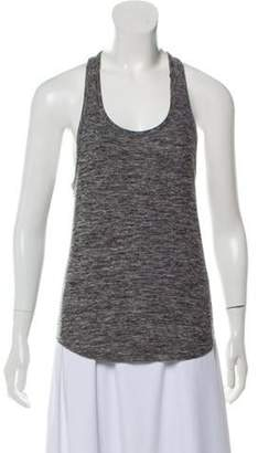 Outdoor Voices Sleeveless Woven Top Grey Sleeveless Woven Top