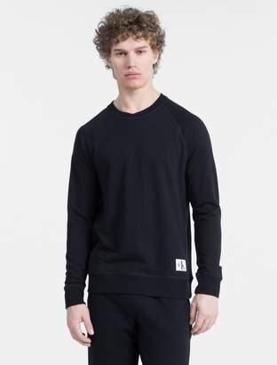 Calvin Klein monogram logo long sleeve sweatshirt