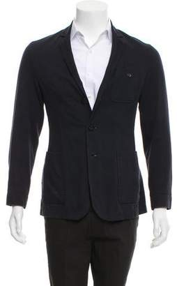 Oliver Spencer Woven Three-Button Blazer