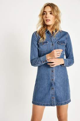 Jack Wills rosebank denim shirt dress