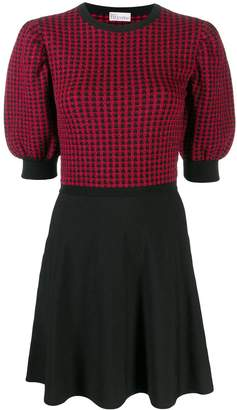 RED Valentino knitted A-line dress