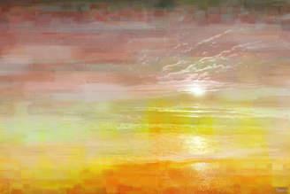 Parvez Taj Breaking Dawn Art Print on Canvas