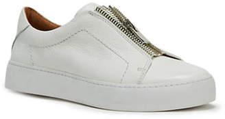 Frye Lena Zip Leather Sneakers