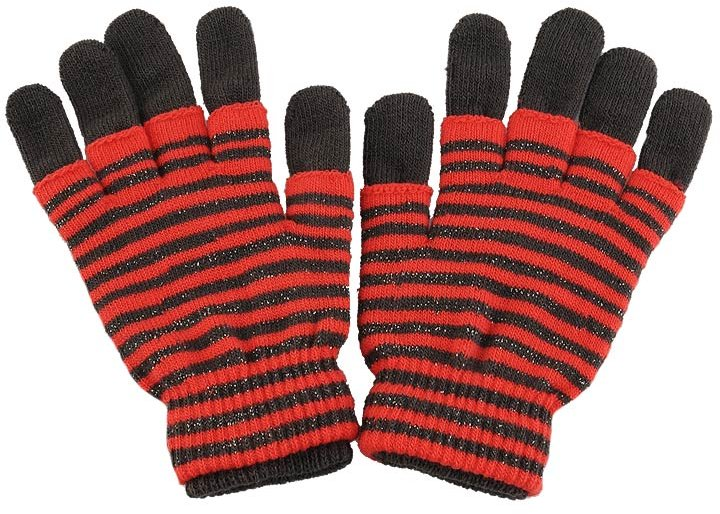 Layered Stripe Gloves