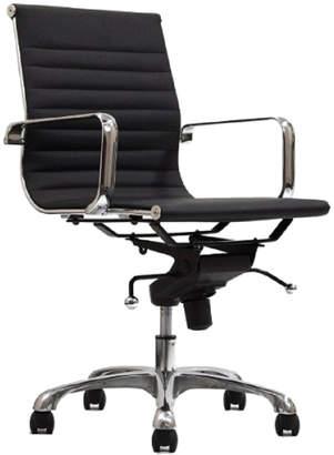 Manhattan Comfort Delancey Mid-Back Adjustable Office Chair