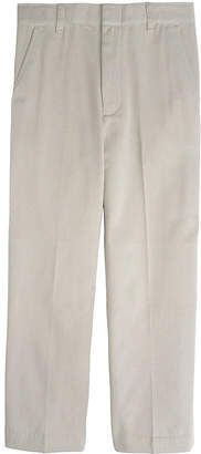 JCPenney French Toast Double-Knee Flat-Front Pants - Boys 8-20, Husky and Slim